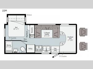 Spirit 22M Floorplan Image