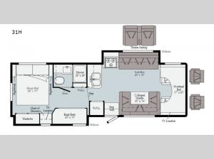 Spirit 31H Floorplan Image