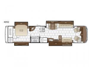 Dutch Star 4052 Floorplan Image
