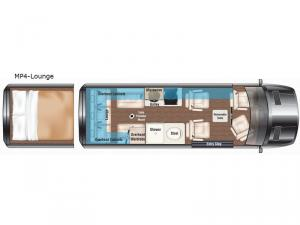 Weekender MP4-Lounge Floorplan Image