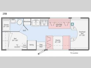 Spirit 25B Floorplan Image