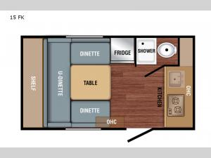 Bushwhacker Plus 15 FK Floorplan Image