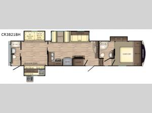 Cruiser CR3821BH Floorplan Image