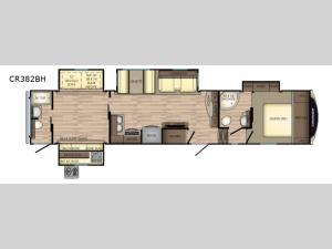Cruiser CR382BH Floorplan Image