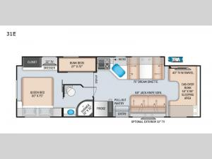 Four Winds 31E Floorplan Image