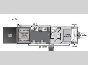 Work and Play 27KB Floorplan Image