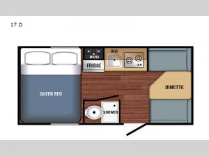 Bushwhacker Plus 17 D Floorplan Image