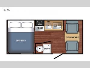 Bushwhacker Plus 17 FL Floorplan Image