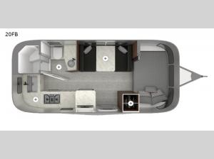 Caravel 20FB Floorplan Image