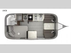 Caravel 19CB Floorplan Image