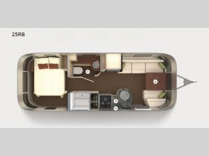 International Serenity 25RB Floorplan Image