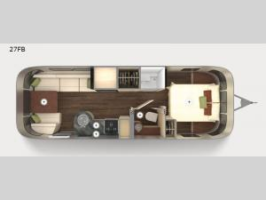 International Serenity 27FB Floorplan Image