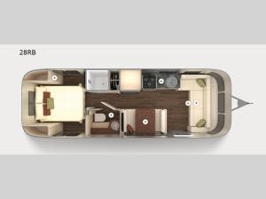 International Serenity 28RB Floorplan Image