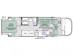 Axis 25.2 Floorplan Image
