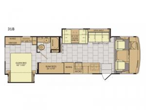 Flair LXE 31B Floorplan Image