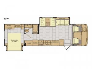 Flair LXE 31W Floorplan Image