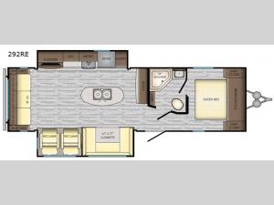 Longhorn 292RE Floorplan Image