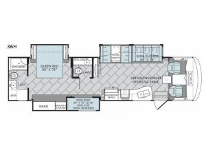 Vacationer 36H Floorplan Image