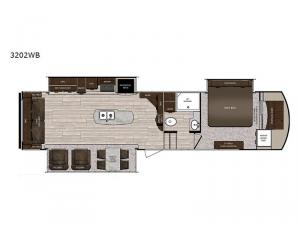 Sanibel 3202WB Floorplan Image