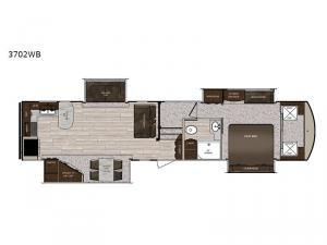 Sanibel 3702WB Floorplan Image