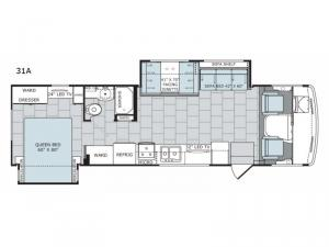 Admiral XE 31A Floorplan Image