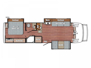 BT Cruiser 5291 Floorplan Image