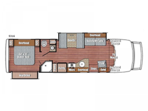 BT Cruiser 5316 Floorplan Image