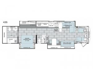 Scepter 43S Floorplan Image