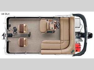 Bass Buggy 16 DLX Floorplan Image