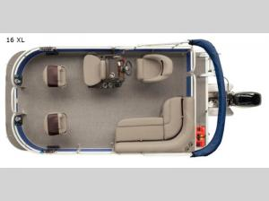 Bass Buggy 16 XL Floorplan Image