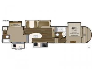 ElkRidge 38RSRT Floorplan Image