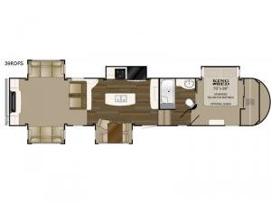 ElkRidge 39RDFS Floorplan Image
