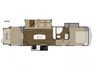 ElkRidge 33RBR Floorplan Image