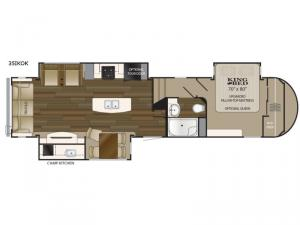 ElkRidge 35IKOK Floorplan Image