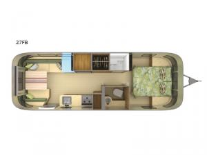 Tommy Bahama 27FB Floorplan Image