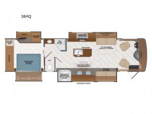 Discovery LXE 36HQ Floorplan Image