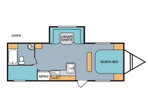 Mt. McKinley 268RB Floorplan Image