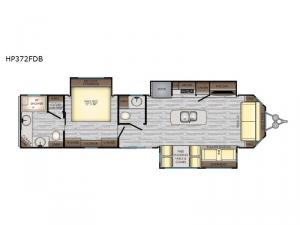 Hampton HP372FDB Floorplan Image