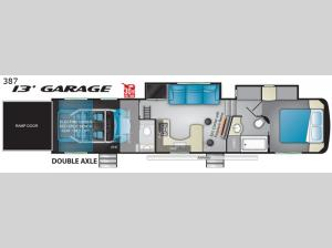 Road Warrior 387 Floorplan Image