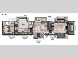 Cardinal Luxury 370FLX Floorplan Image