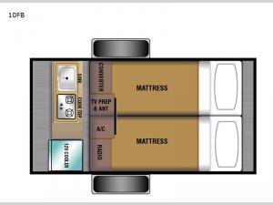 Bushwhacker 10FB Floorplan Image