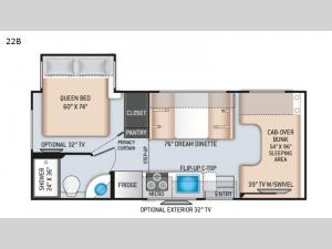 Chateau 22B Floorplan Image