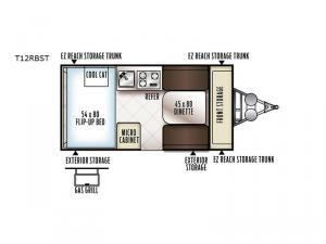 Flagstaff Hard Side T12RBST Floorplan Image