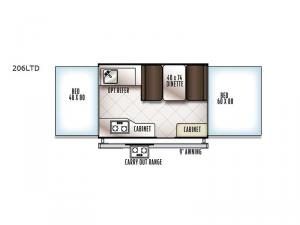 Flagstaff MACLTD Series 206LTD Floorplan Image