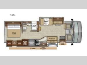 Precept 34G Floorplan Image