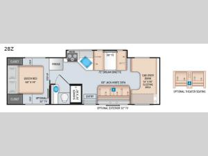 Chateau 28Z Floorplan Image