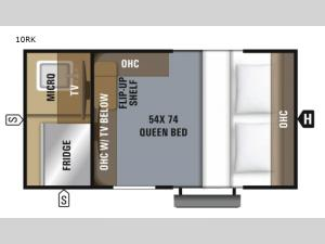 Hummingbird 10RK Floorplan Image