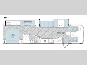 Vacationer 36D Floorplan Image