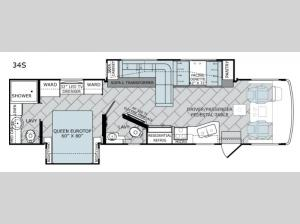 Vacationer 34S Floorplan Image