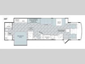 Vacationer 36F Floorplan Image